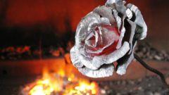 Как выковать розу