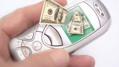 Как потратить деньги на телефоне