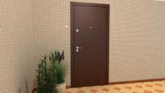 Как заменить металлическую дверь