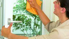 Как очистить пластиковые окна