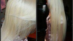 Как покрасить нарощенные волосы