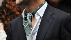 How to tie a bandana on the neck