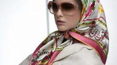 Как завязывать головной платок