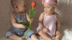 Как поздравить двойняшек