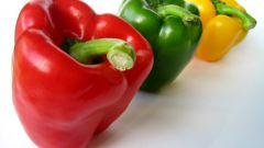 Как запекать болгарский перец