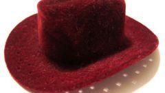 Как свалять шляпу