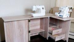 Как сделать стол для швейной машинки