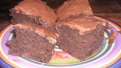 Как испечь шоколадный кекс