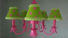 How to paint chandelier