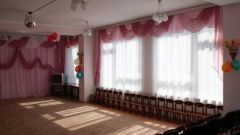How to decorate a music room in kindergarten