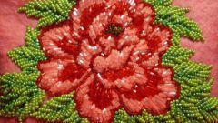 Как научиться вышиванию цветов бисером