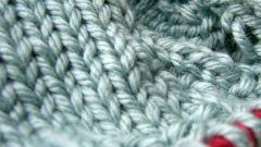 Как выполняется вязание двойной резинки