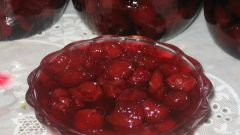 How to cook cherry jam