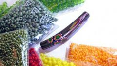 How to determine the size of the beads