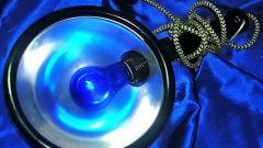 Как использовать синюю лампу