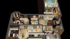 Как начертить план этажа