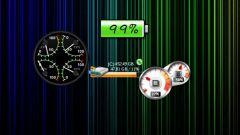 Как вывести индикатор на экран