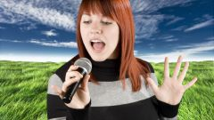 How to learn to sing karaoke