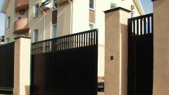 How to install sliding gates