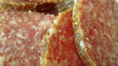 Как хранить сырокопченую колбасу