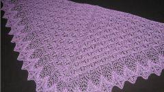 Как обвязать шаль