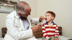 Как лечить боль в горле у ребенка