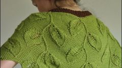Как связать шарф-манто