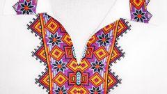 Как вышивать крестиком на одежде