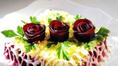 Как вырезать розу из свеклы