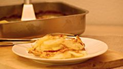 Как запечь картошку в сметане