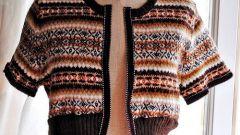 Как переделать старый свитер