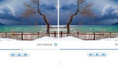 Как отобразить зеркально видео
