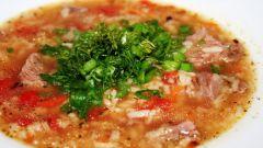 Как делать суп харчо