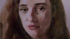 Как нарисовать портрет акварелью