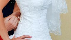 How to lace up wedding dress