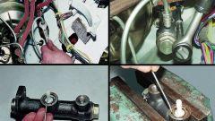 Как заменить главный цилиндр сцепления