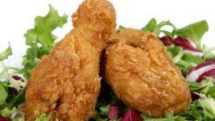 Как приготовить жаренную курицу