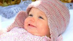 Как вязать шапку для младенца