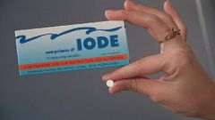 How to determine a lack of iodine in the body