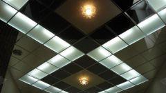 Как мыть подвесные потолки