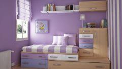 Как обставить маленькую детскую комнату