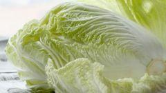 Как готовить китайскую капусту