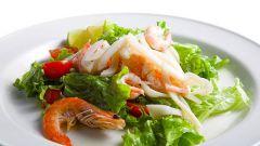 Как готовить креветки и кальмары