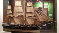 How to make a model of a sailing ship