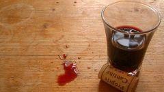 Как вывести винное пятно