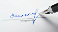 How to make a letter of attorney to sign