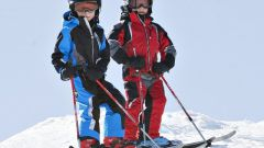Как подобрать лыжные палки ребенку