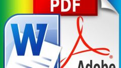 How to alter a pdf document in word
