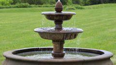 Как сделать простой фонтан
