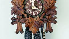 Как отремонтировать часы с кукушкой
